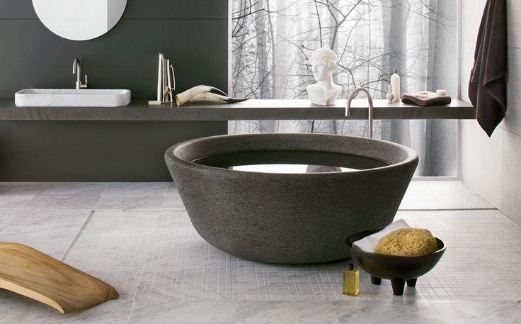 Bathub SPA by Nespoli e Novara: #madeinitaly, #stone, #naturalstone, #interior, #architecturedesign, #interiordesign, #forniture,  #bathroom, #bathtub,  #hydrobathtub, #Bathroomcollection, #whirlpool,