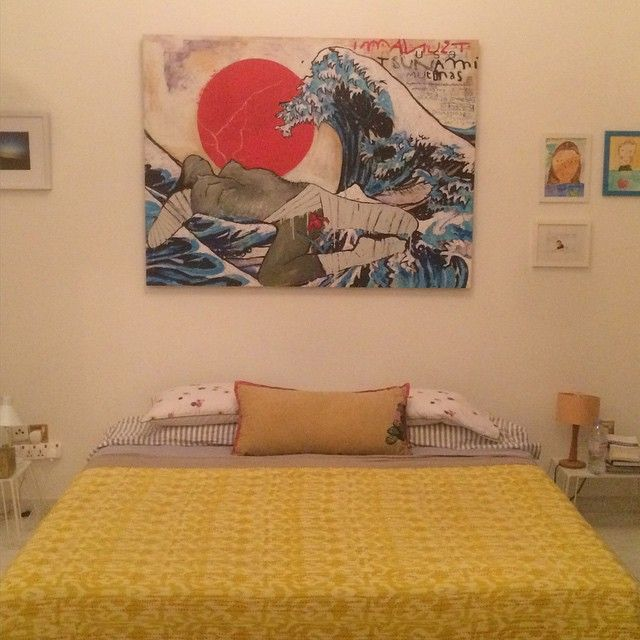 Tsunami# in Dubai# @ the art room# Laure Parise#