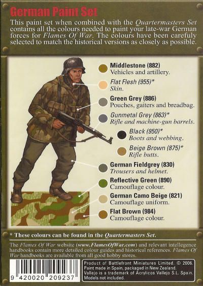 Painting Guide For Early War German Forces | Figures ...