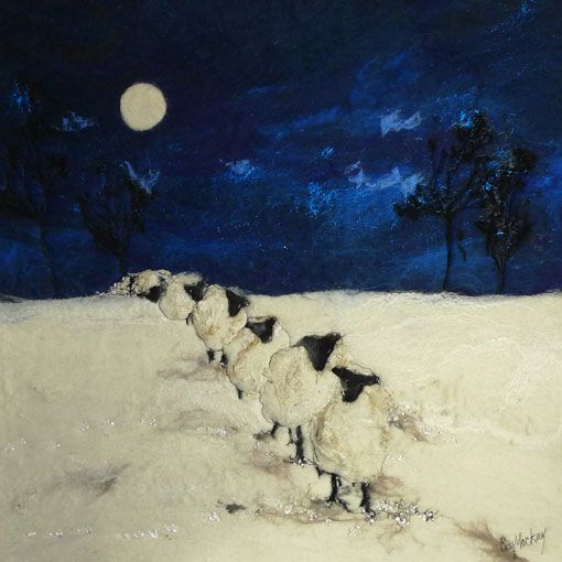 Coming over the hill  Moy Mackay