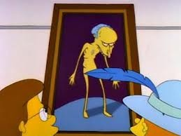 Nude Burns #simpsons #thesimpsons #animation #cartoons #art #comedy