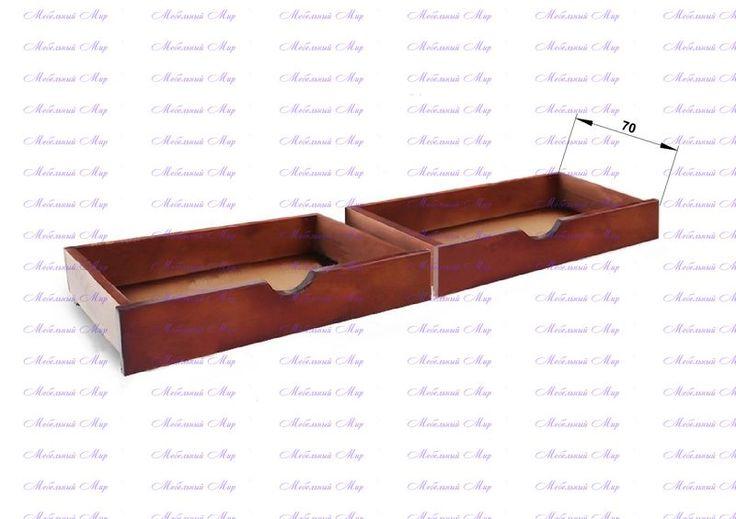 Ящик малый - Купить мебель из сосны от фабрики в Москве.
