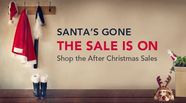 If Santa didn't bring exactly what you wanted this year, don't worry. We are rolling out some of their best offers of the year for after-Christmas.