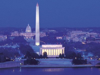 Our nation's capital, Washington, DC.