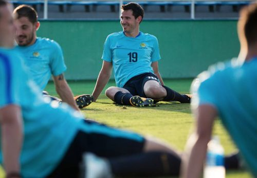 It's game day! The #Socceroos are relaxed - are you? What's the #football news today?