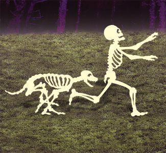 Skeleton Chase Woodcrafting Pattern