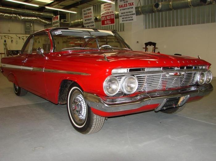 1961 Chevrolet Impala offered for auction | Hemmings Motor News
