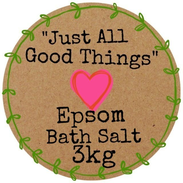 Epsom Bath Salt available in 3kg or 6kg