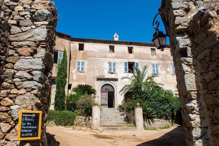 Hôtel de charme Palazzu Pigna en Corse 3 étoiles, pres de l'ile rousse