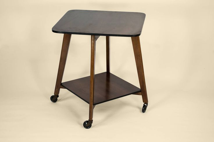 Rotating sculpture table. #Vintage English, 1950s