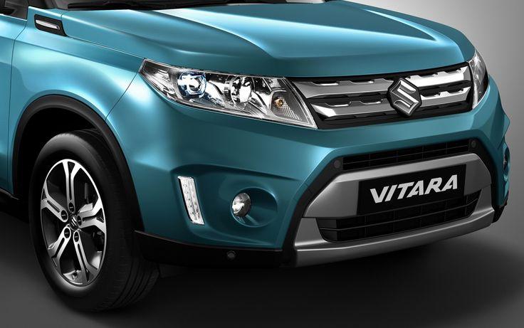 front design 2015 suzuki vitara green #2015SuzukiVitara #Car #Autos #Review #Suzuki #car2015 #Vitara #Front