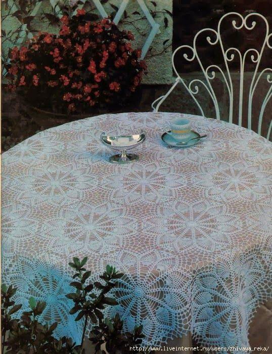 Art: Three tablecloths