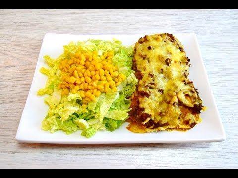 Mexican dinner: Nacho calorie bomb lasagna - YouTube