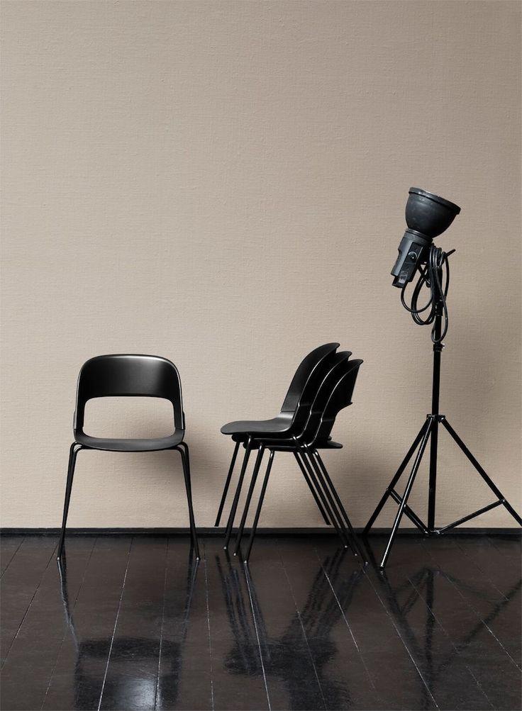fritz hansen's pair chair - April and mayApril and may