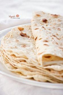 Zobacz zdjęcie Jak zrobić domową tortille?  składniki na 8 dużych sztuk:  2 szklanki mąki ps...