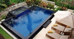 40 Amazing Cool Backyard Pools For Inspiration   – Garden stepping stones