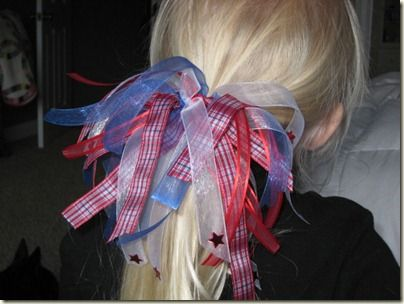 Fabric Bows and More: Ribbon Embellished Hair Bows by Chica and Jo