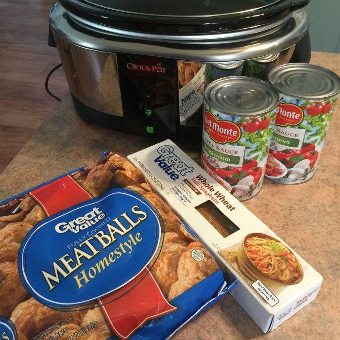 Easy Crockpot Spaghetti Recipe - iSaveA2Z.com