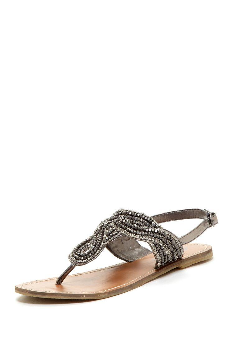 Chrome hearts eyeglasses adana rhinestone detail sandal accessorize