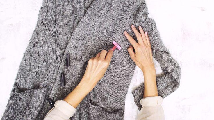 Weggooien? Waarom zou je? Zo blaas je oude truien en vesten weer nieuw leven in.