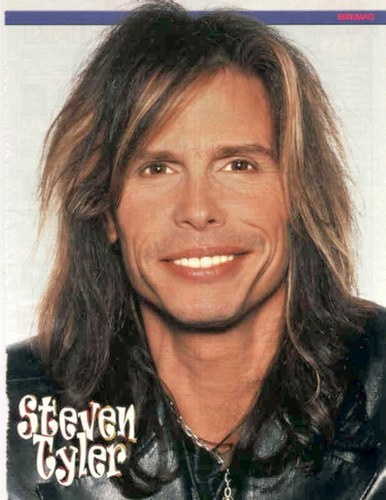 Steven Tyler. ASDFGHJKL, there is something inexplicably überattractive about this man. <3