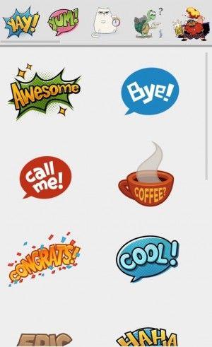 Hangouts [Update] – Kini dengan Stiker, Smart Suggestions dan Timestamp http://www.aplikanologi.com/?p=32087