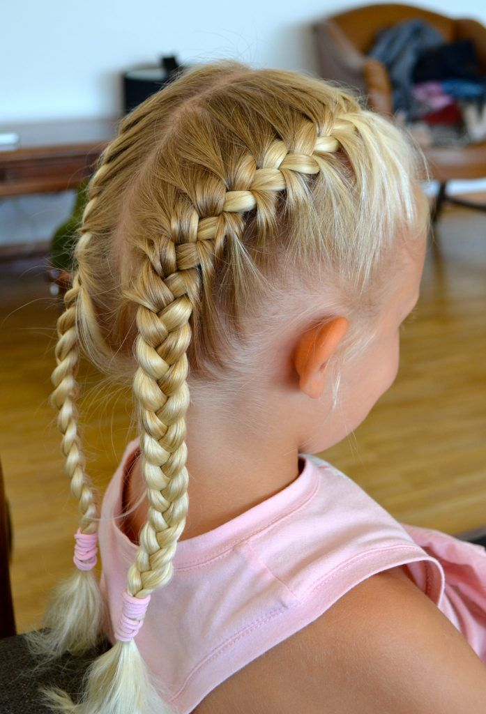 Cute Girl Hairstyles For Beginners Hairstyle Cool Braid Hairstyles Kids Braided Hairstyles Two Braid Hairstyles