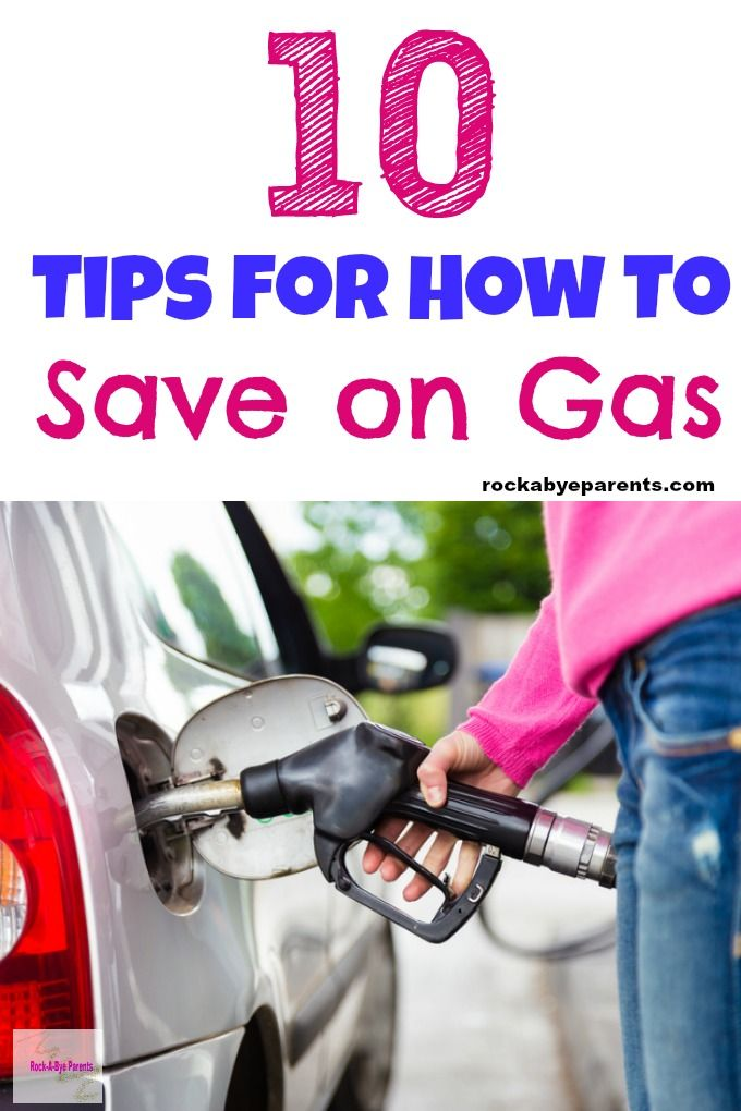 Looking to save on gas? Check out these 10 tips that are easy to implement and will quickly help to bring you financial relief at the pump! #moneytips