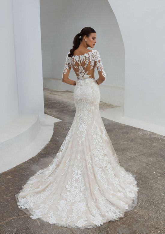Geneva by #JustinAlexander- This allover lace fit…