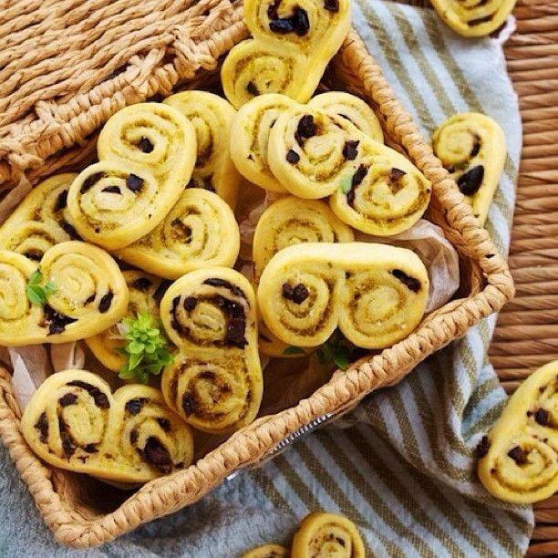 @confituredevivre Instagram photos | petite palmiers with olive tapenade