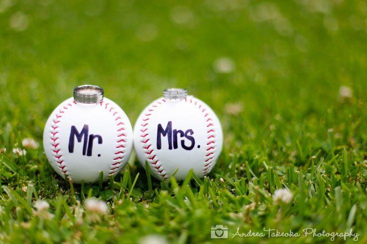 Baseball themed Wedding Photography