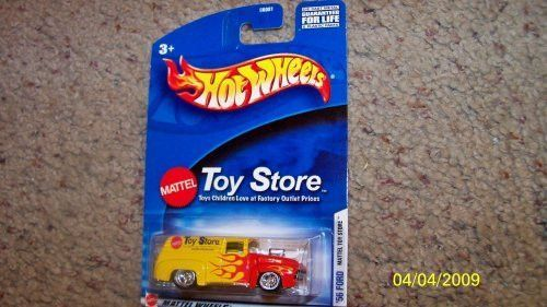 56 Ford Panel Truck Mattel Toy Store Blown Hot Rod Hotwheels