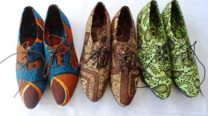 Renzioni shoes - African prints