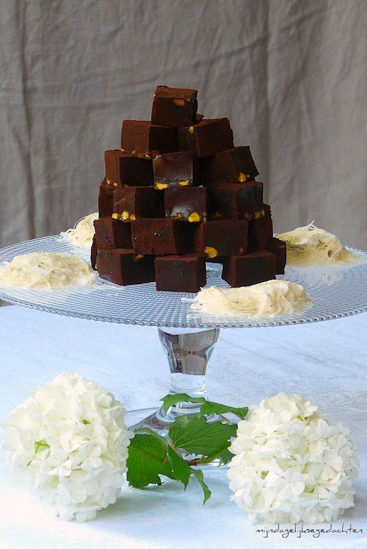 Chocolate Pistachio Turkish Delight