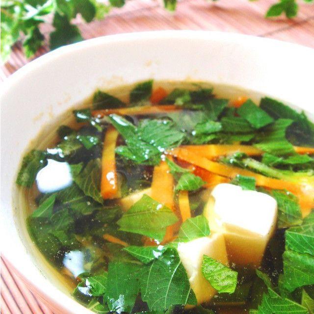 【栄養たっぷり♪】とろっとろ「モロヘイヤスープ」で夏を乗り切ろう!