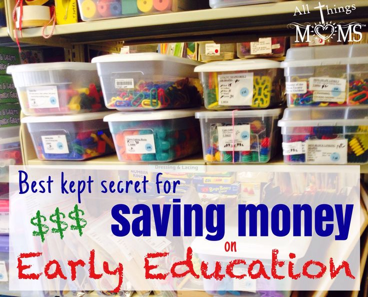 Best Kept Secret for Saving Money on Early Education Resources - http://allthingsmoms.com/best-kept-secret-for-saving-money-on-early-education-resources/