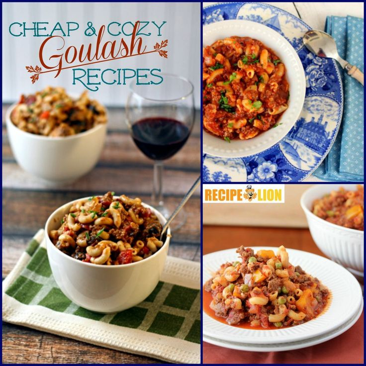 Awesome Recipes for Goulash