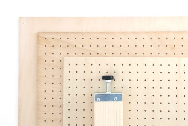 面材は有孔ボード シナ ラワン シナ合板をご用意 ご指定のサイズで