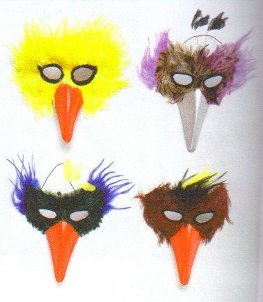 How to Make a Bird Face Mask