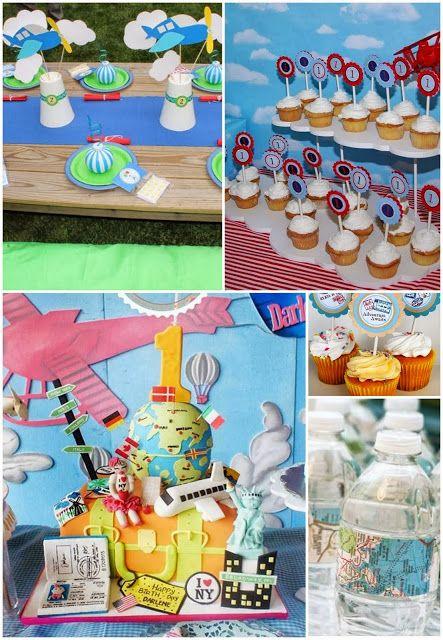 Decoração Festa Infantil Avião