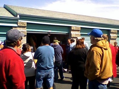 Personal account of a storage unit auction for those interested in trying it. Just remember the experience may vary by state/location.