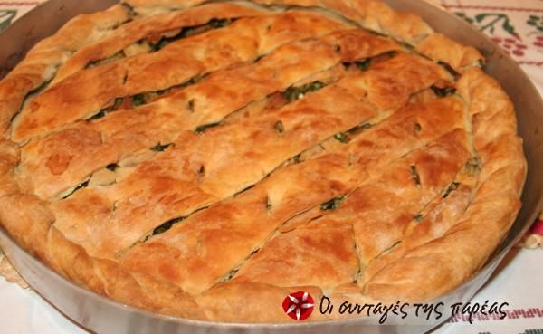 Delicious hortopita #cooklikegreeks #hortopita #pie #vegetarian