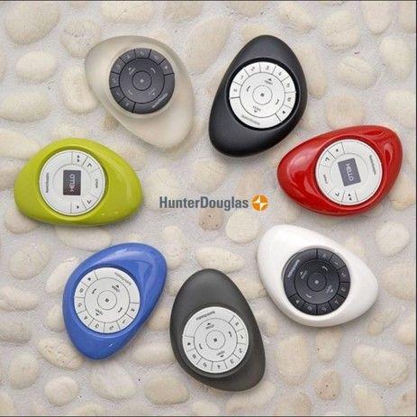 Para cada espacio de tu hogar, un Control Pebble que combina con tu estilo! #PowerView #CortinasMotorizadas #ControlPebble #CortinasInteligentes #HunterDouglasChile #InteriorDesign #homedesign #interiorstyle