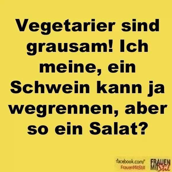 Vegetarier sind grausam