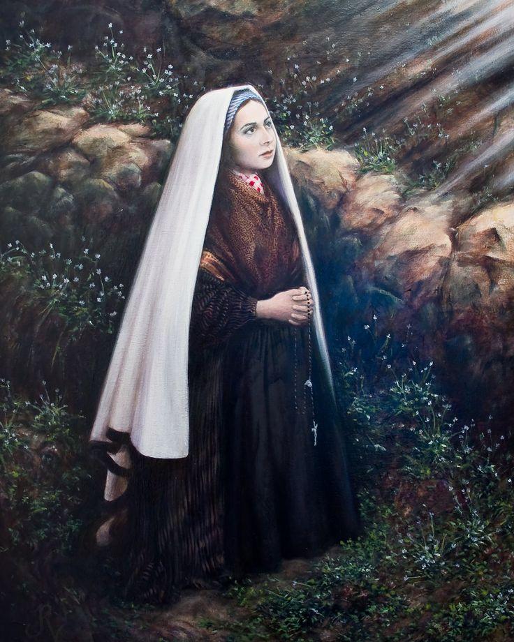 142 best images about St. Bernadette of Lourdes on Pinterest ...