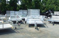 Aluminum Utility Blowout. Come in and mention this pin and receive a discount on select aluminum utility trailers!!!