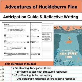 "thesis statement for the adventures of huckleberry finn Thesis statement, and it serves as a  novel huckleberry finn ""this will be easy,"" you think  what do huck's adventures tell us about life,."