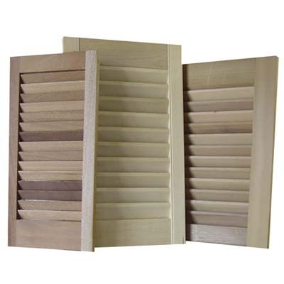 100 Diy Upgrades For Under 100 Red Cedar Wood Shutters And Mail Sorter