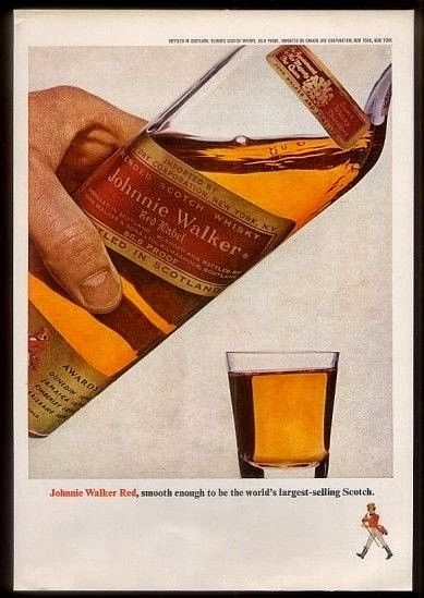 Owned and blended by The Distillers Company (now Diageo) Johnnie Walker Red Label Blended Scotch Whisky (1970s) was bottled at 40% and 43% ABV. Price: Unknow historical price however, current...
