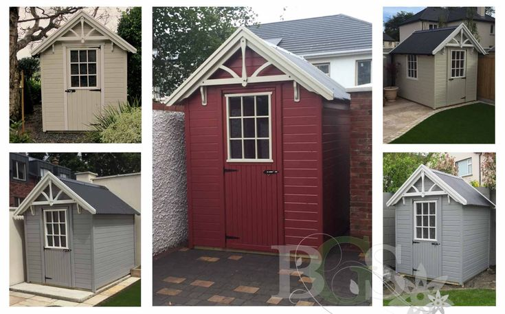 Lodge Style Garden Shed
